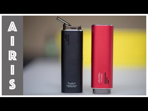 Airis Switch and Herborn Portable Herbal Vaporizers