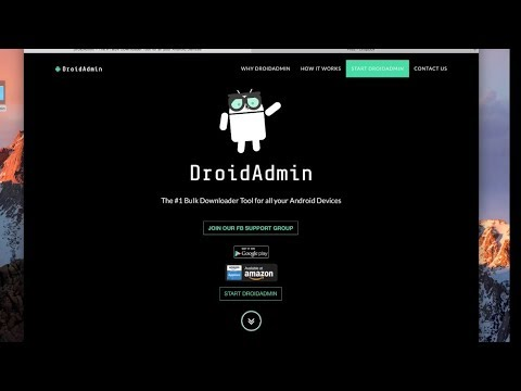 DroidAdmin - Create your own configuration/APP Store - Share code & Easily install apks - March 2018