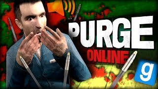 Purge Online | EAVESDROPPING USING VOICE CHAT!!! (Garry's Mod)