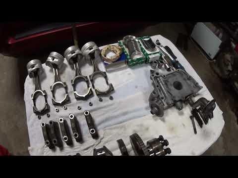 Сборка двигателя Хёндай акцент G4EB
