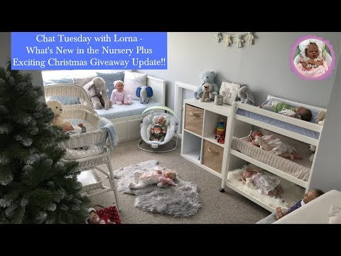 Chat Tuesday with Lorna - What's New in the Nursery Plus Exciting Christmas Giveaway update!