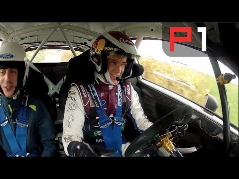 Thierry Neuville On-Board rallying on tarmac - Full lap