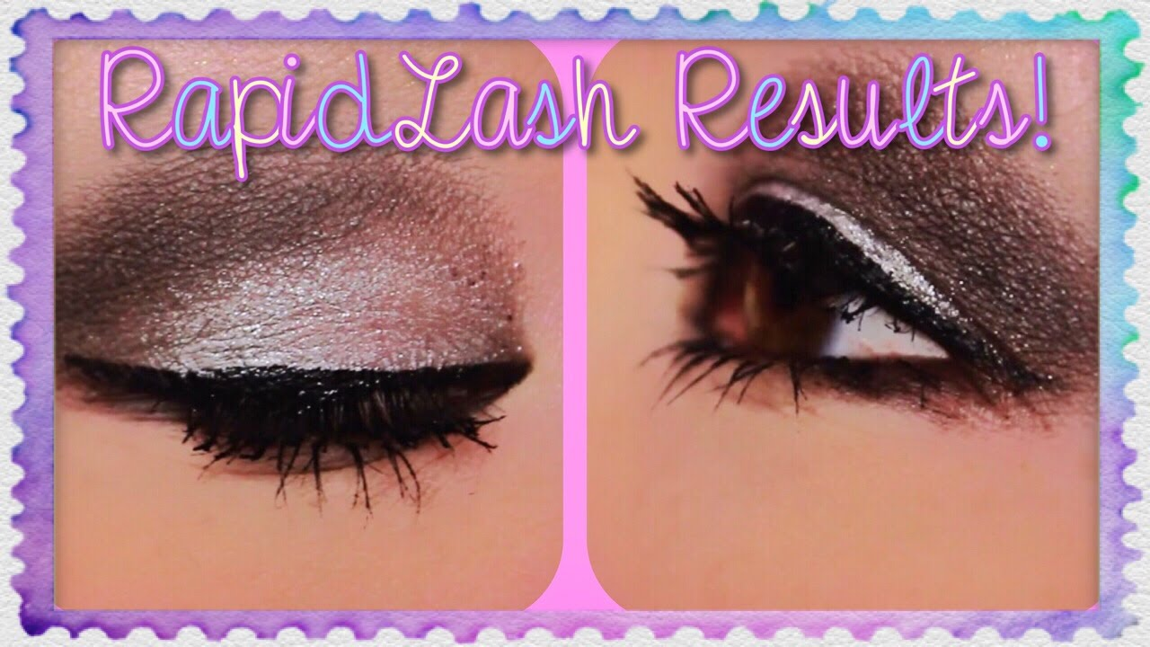 All About My Eyelash Loss Rapidlash Results Youtube