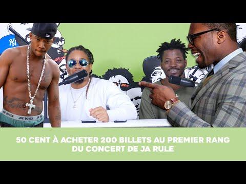 50 Cent a acheté 200 Billets au premier rang du concert de Ja Rule