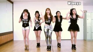 T ARA N4 티아라 엔포 Jeon Won Diary 전원일기 Waveya 웨이브야 Cover Dance