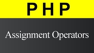 Assignment Operators in PHP (Hindi)
