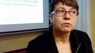 Małgorzata Starczewska-Krzysztoszek, główny ekonomista PKPP Lewiatan o podlaskich firmach