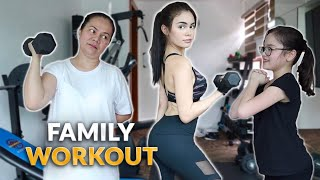 FAMILY WORKOUT | IVANA ALAWI