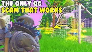 The Only OG Scam That Still Works! 😱 (Scammer Gets Scammed) Fortnite Save The World