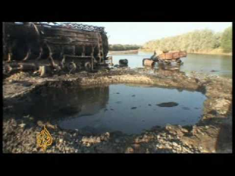 Troops battle for control of Kunduz province - 05 Sept 09