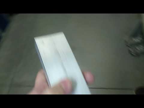 Aluminum bar stock defect