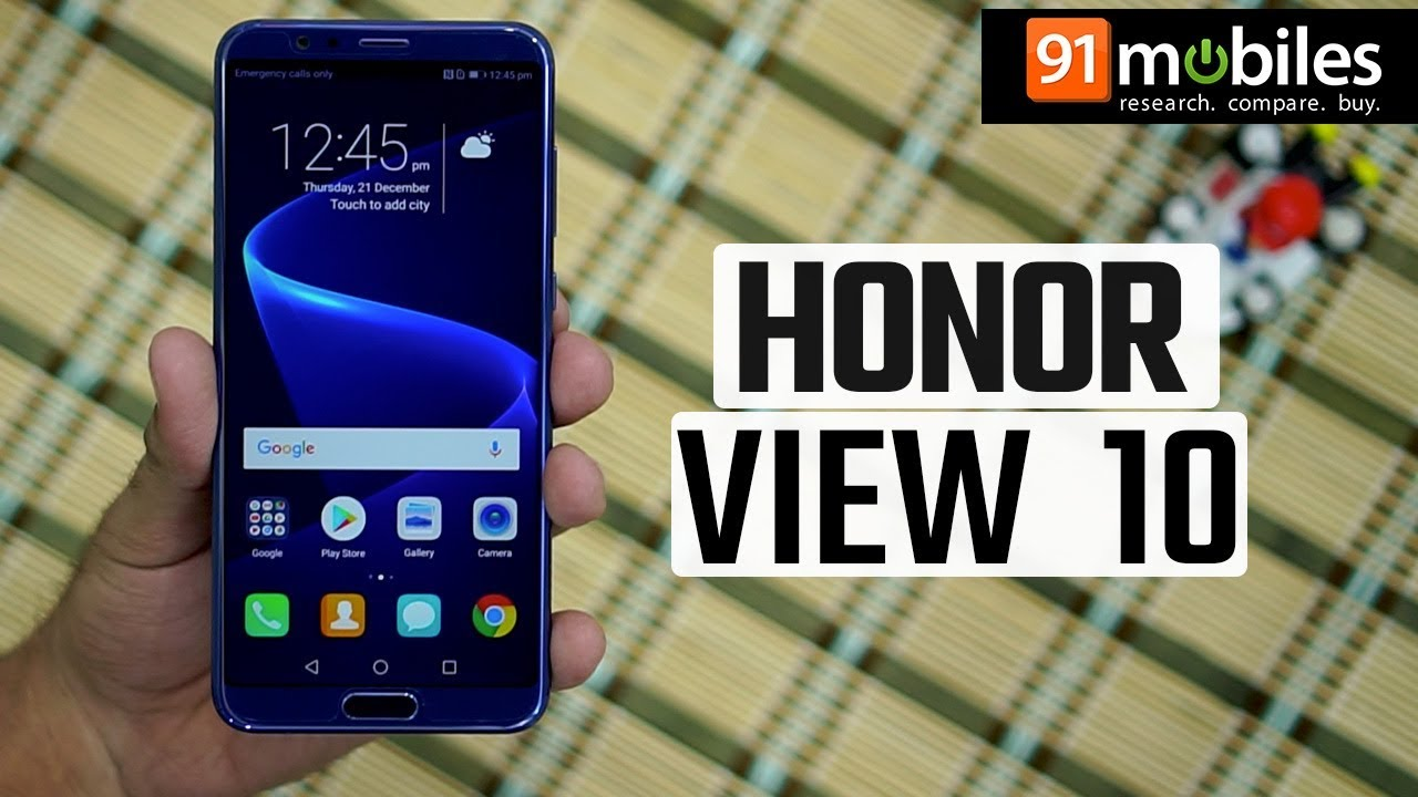 Honor View 10: First Look | Hands on | Price | [Hindi-हिन्दी]