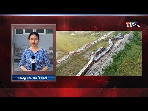 Cập nhật Ι Tai nạn đường sắt nghiêm trọng tại Thanh Hóa