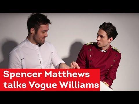 Spencer Matthews talks Vogue Williams wedding and designing her ring