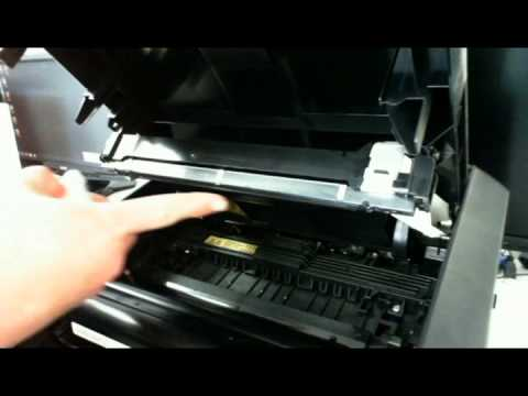 How to clean the LED Bar on an Oki B420 / B430 laser printer.