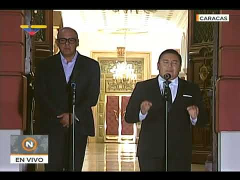 Javier Bertucci, tras reunirse con Maduro, declara que pidió liberación de