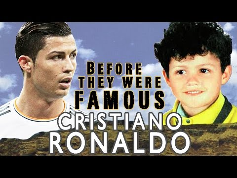 Christiano Ronaldo - Before They Were Famous