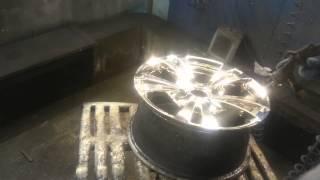 Хромирование дисков(Химическая металлизация дисков., 2015-02-03T09:50:37.000Z)