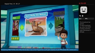 Brodacting paw on ROLL| Nickelodeon game was a kids tv Programme as well ON ps4