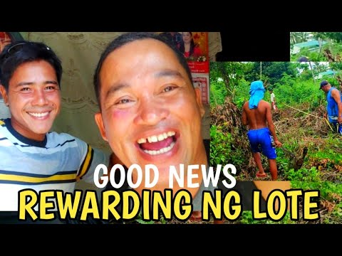 REWARDING NG LOTE NA MATAGAL NG PANGARAP