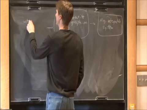 Dimers and Integrability - Richard Kenyon