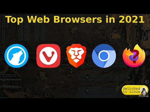 Top Web Browsers for 2021