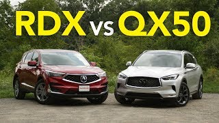 2019 Acura RDX vs Infiniti QX50: What Luxury Crossover Deserves Your Dollars?