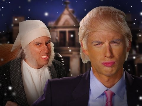 Donald Trump vs Ebenezer Scrooge.  Epic...