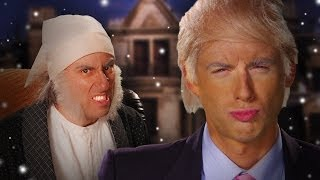 Donald Trump vs Ebenezer Scrooge.  Epic Rap Battles of History Season 3. thumbnail