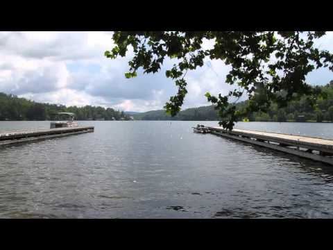 mocassin creek state park - lake burton - north ga