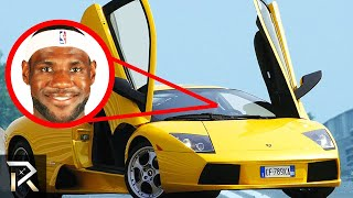 10 Rich Athletes Who Drive The Most EXPENSIVE Cars