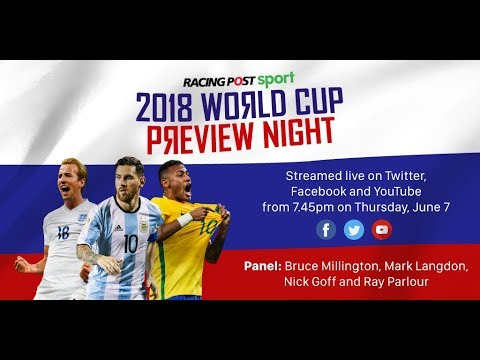Live 2018 World Cup Preview