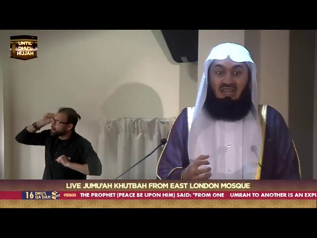 The Search for Peace - Back to Basics - Mufti Menk