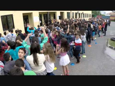 Flashmob EMRC - EB 2,3 Marco de Canaveses