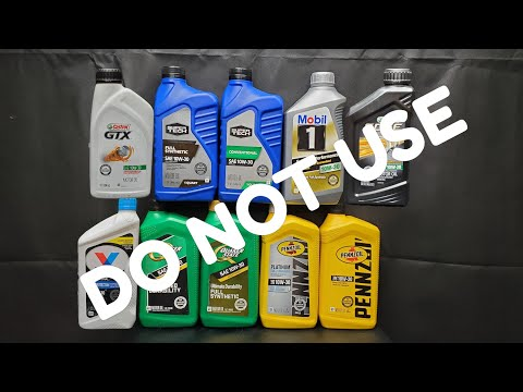 DO NOT USE this engine oil! API fraud!