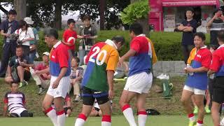 ラグビーW杯1年前イベント レジェンド釜石VSレジェンドサンヨー⑥