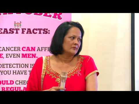 Fijian Minister for Health officiates the Launch of the Pinktober with Fiji Dairy Limited