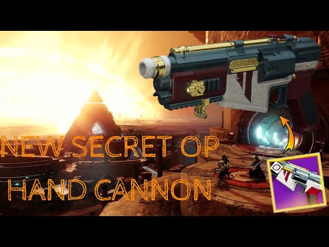 How To Get The New Secret OP Hand Cannon In D2!   D.F.A PVP Review!