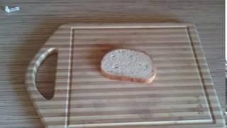 Как сделать бутерброд с колбасой за 1 сек How to make a sandwich with sausage in 1 second