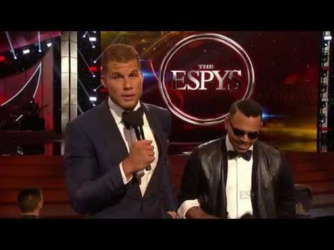 Blake vs Drake Opening Skit For The 2014 ESPYs Awards Feat Chris Brown