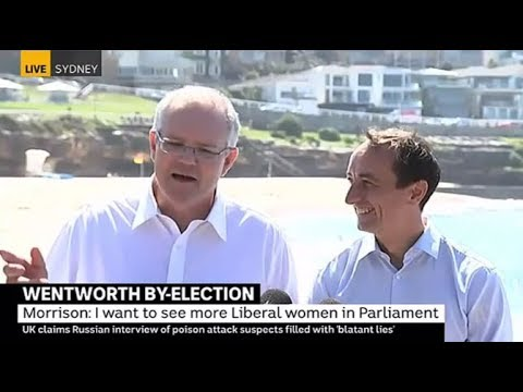 """""""You're always into conspiracies,"""" Scott Morrison denies Dave Sharma nearly pulled out"""