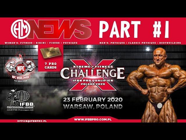 2020 International Xtreme Fitness Challenge - IFBB PRO Qualifier, part I.