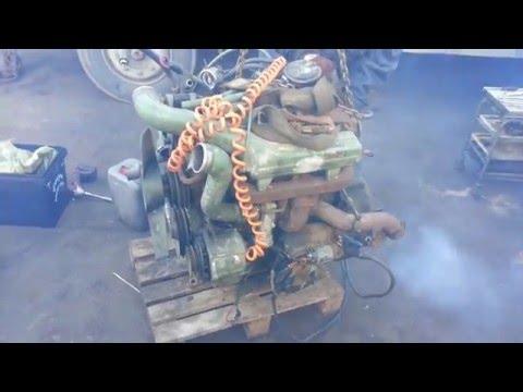 Запуск двигателя OM364 Турбо