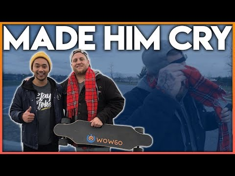 He Was Robbed Of His Boosted Board (So I Gave Him One)