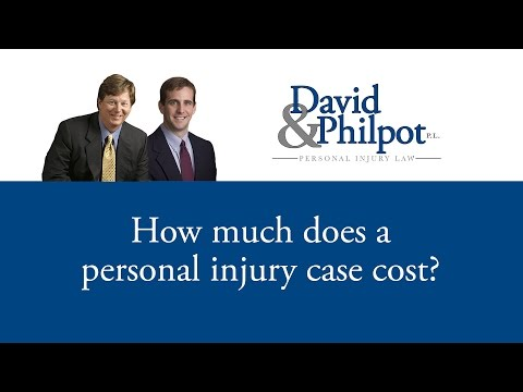 http://DavidLaw.com | 800.360.7015  In this video, Tim David with David & Philpot, P.L. discusses the fees and costs associated with a personal injury case.