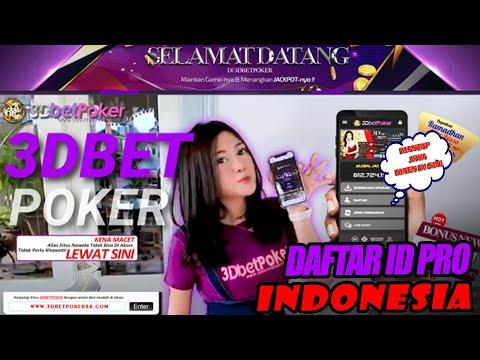 3DBETPOKER – Agen Poker, Bandar Dominoqq, Situs Poker, Dominoqq Online Terpercaya Di Asia