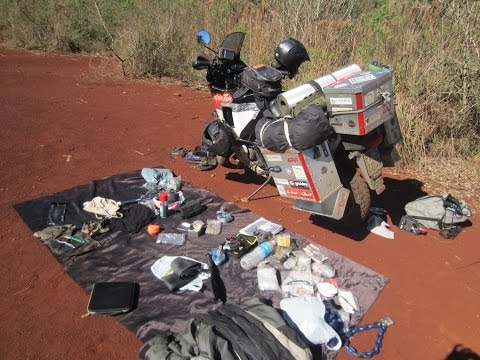 Luggage and accessories - Around the world on motorbike (www.australiatwin.it)