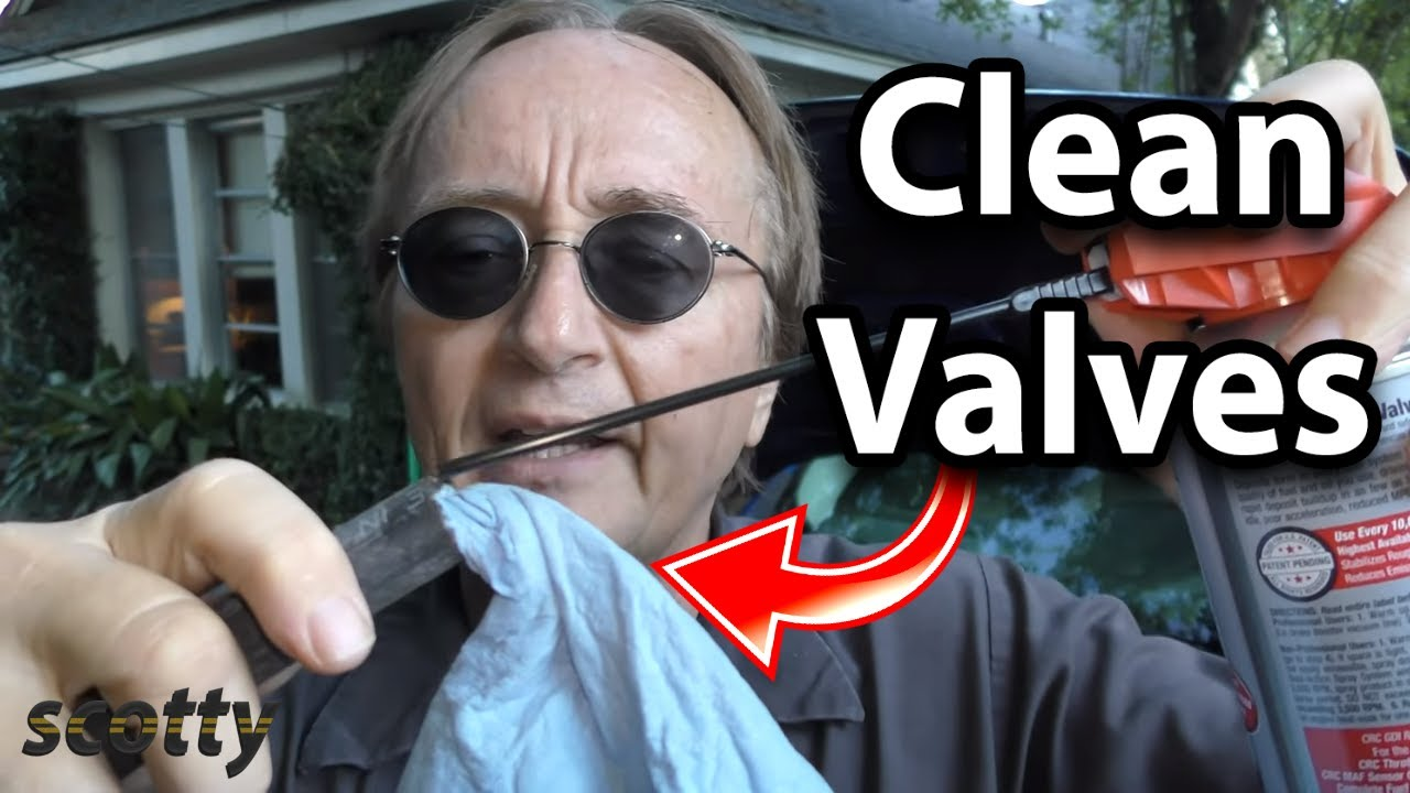 How To Clean Intake Valves In Your Car With A Spray Cleaner Youtube Gm 3 6 Vvt Engine Problems