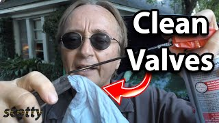 How to Clean Intake Valves in Your Car with a Spray Cleaner