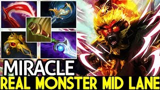 Download Miracle- [Monkey King] Real Monster Mid Lane Pro Gameplay 7.21 Dota 2 Mp3 and Videos
